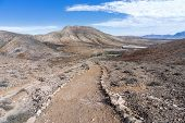 Fuerteventura - Pilgrims way in the Cardon massif