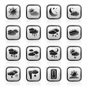 Weather and meteorology icons