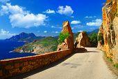 scenic roads of Corsica
