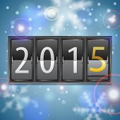 New Year 2015 On Mechanical Timetable