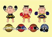 Thai Boxing design,vector illustration