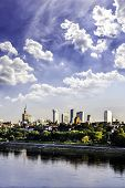 Warsaw Downtown At Afternoon