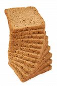 Rye Bread For Toasts And Sandwiches