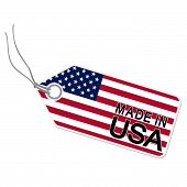Hangtag With Made In Usa