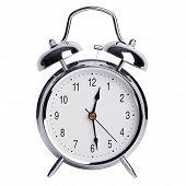 Half Past Twelve On An Alarm Clock