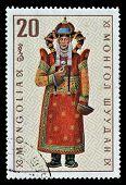 Monglian stamp 1969