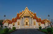 Wat Benchamabophit In Bangkok, Thailand.