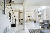 Spacious, Bright Living Space