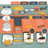 Vintage Web design elements 4