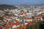 Ljubljana Aerial