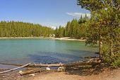 Beautiful Lake On A Calm Day