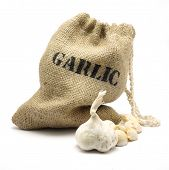 Garlic in a bag