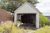 Old Rusted Iron Shed