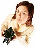 Woman Having Financial Problems