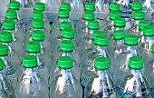 picture of disaster preparedness  - Bottled Water being stored for Disaster Preparedness - JPG