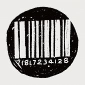 pic of barcode  - Doodle Barcode - JPG