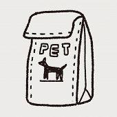 image of bag-of-dog-food  - Doodle Pet Food - JPG