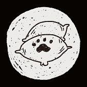 stock photo of bag-of-dog-food  - Doodle Pet Food - JPG