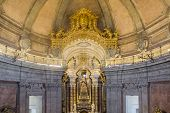 stock photo of church interior  - Clerigos tower  - JPG