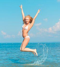 picture of denude  - Pleasure In Joy Jumping  - JPG