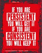 persistent poster