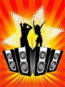 Party background - vector