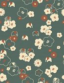 Vector Retro Children's Pattern (seamless)