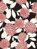 Vector Floral Pattern (seamless)