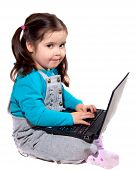 Child With A Laptop