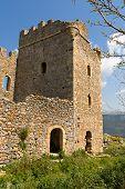 Castle of Zarnata at Mani, Greece