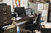 Untidy Office