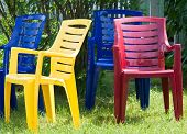 Four Summer Chairs