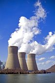 Three Cooling Towers
