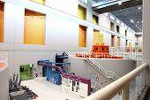 Inside the main powerhouse, Bonnneville plant OR.