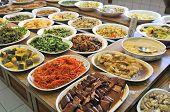 Vegetarian Buffet Meal