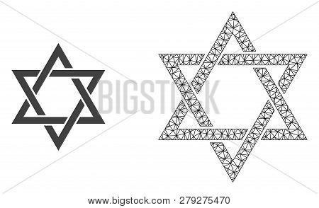 Polygonal Mesh David Star And