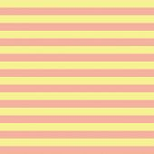 Coral Orange And Yellow Horizontal Stripes Seamless Pattern. Horizontal Striped Seamless Vector Patt poster