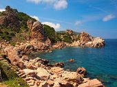 The Rocky Coast Of Sardinia