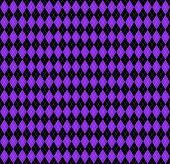 Argyle Plaid. Proton Purple Argyle. Scottish Pattern In Black And Purple Rhombuses. Scottish Cage. T poster
