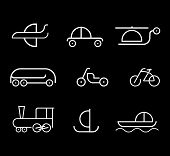 Transpot - Set Of Vector Icons