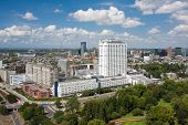 Aerial View Of The Erasmus University Hospital Of Rotterdam, The Netherlands