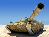 Tanque do exército.