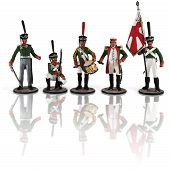 Russian soldiers Napoleonic