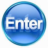 Enter Icon Blue