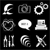 Vector icons da ferramenta