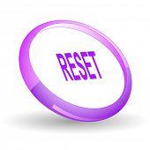 Reset. Vector icon.