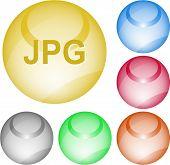 Jpg. Vector interface element.