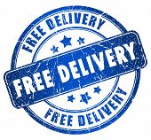 Free delivery stamp