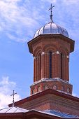 Domed church tower
