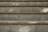 picture of brownstone  - Textured Cement on a Brooklyn Brownstone Stoop while under Construction - JPG